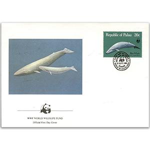 1983 Palau - Blue Whale WWF Cover