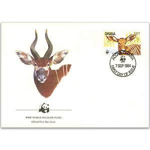 1984 Ghana - Bongo Antelope