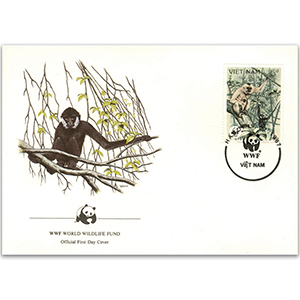 1987 Vietnam - Black Gibbon WWF Cover