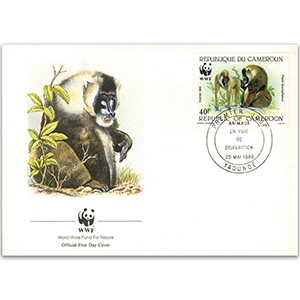 1988 Cameroon - Drill WWF Cover