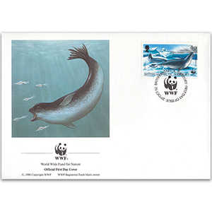 1992 British Antarctic Territory - Ross Seal WWF Cover