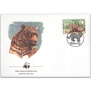 1992 Belize - Jaguar