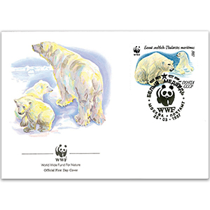 1987 Soviet Union - Polar Bear WWF Cover