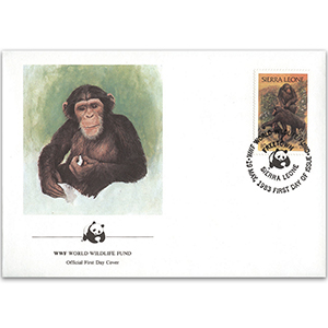 1983 Sierra Leone - Chimpanzee