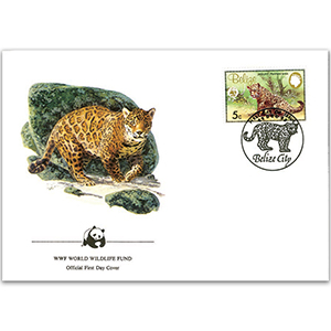 1983 Belize - Jaguar WWF Cover