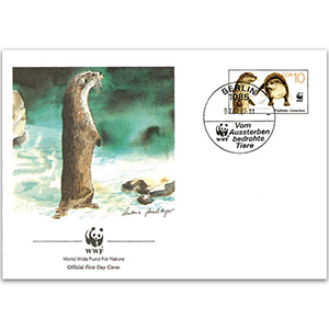1987 Germany - Otter WWF Cover