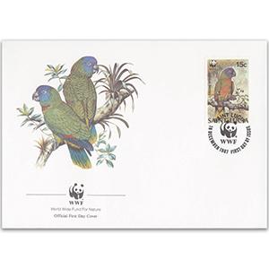 1987 St. Lucia - St. Lucia Parrot