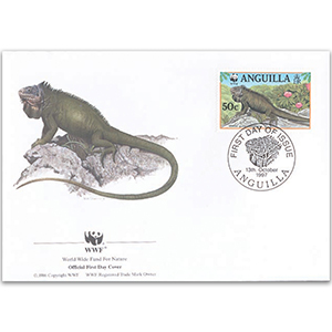1997 Anguilla - Mature Iguana