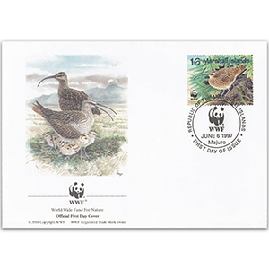 1997 Marshall Islands - Bristle Thighed Curlew